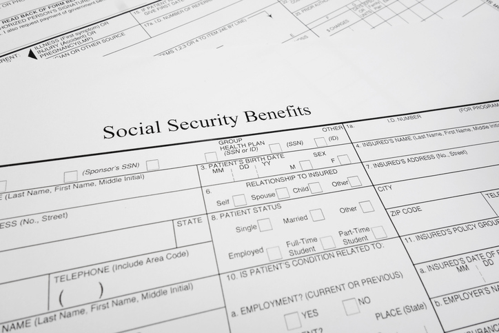 Social Security Benefits Forms